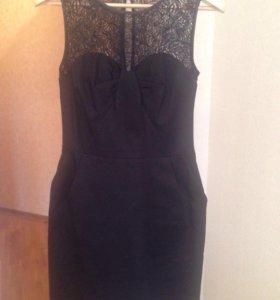 Платье Oasis новое вечернее чёрное