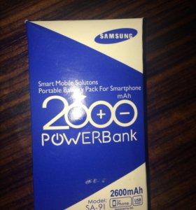 Powerbank Samsung 2600 mAh