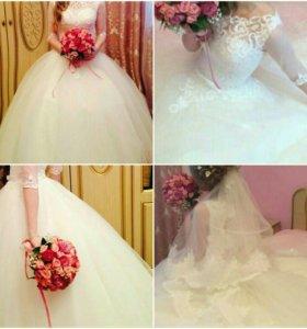 Свадебное милое платье