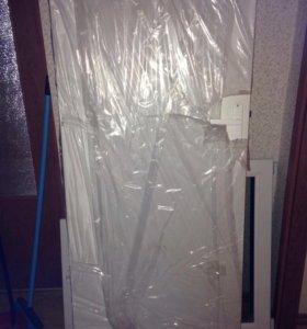 Дверь белая новая в упаковке
