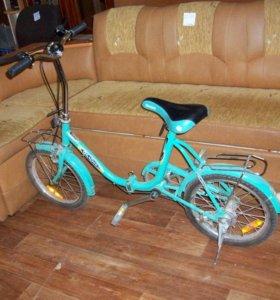 Складной детский велосипед
