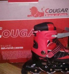 Ролики 833 best cougar tm размер 34-37