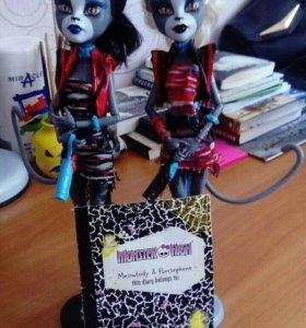 Куклы 'Monster High' Мяулодия и Пурсефона