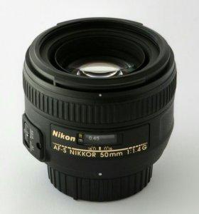 Nikkor sf-s 50 mm 1.4
