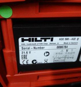 Дозатор электрический химического анкера Hilti HDE