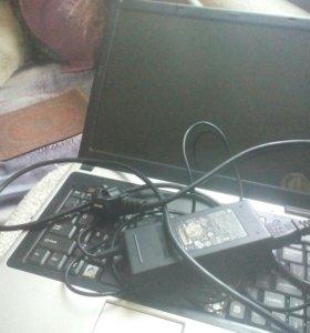 Ноутбук обычьный с игрой