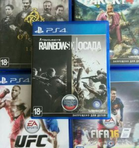 Диски для PS4 (все за 3000)