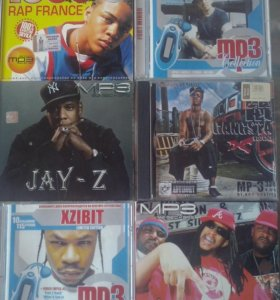 Диски mp3 (rap, gangsta )