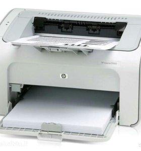Принтер лазерный HP LaserJet P1005