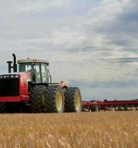 Заправка кондиционеров на тракторах