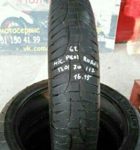 Моторезина БУ Michelin Pilot 120/70/R17 Перед