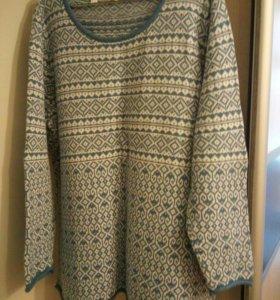 Пуловер р.60-62
