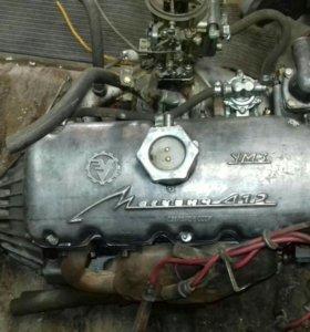 Двигатель с КПП москвич 412