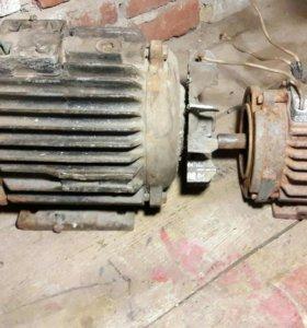 Электродвигатель электроматор