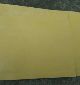 Крафт конверты-пакеты