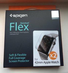 Защитная плёнка spigen flex Apple Watch 38 42
