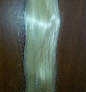 Волосы 70 см на клипсах