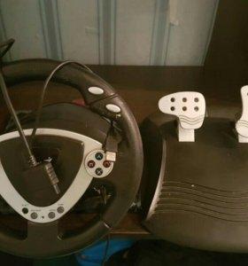 Игровой руль Genius
