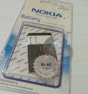 АКБ для Nokia BL-6C