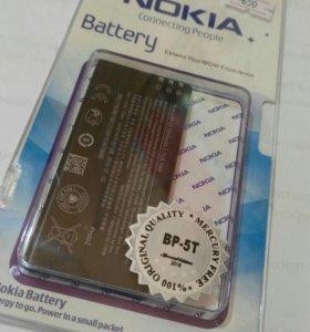 AKБ для Nokia BP-5T