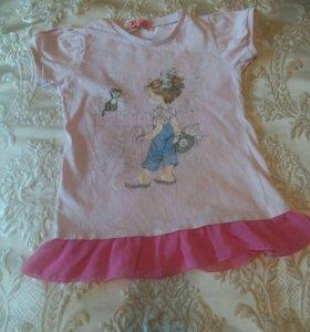 Платье туничка р 80-90