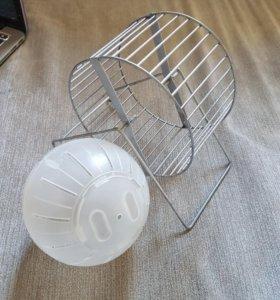колесо и шар для хомяков