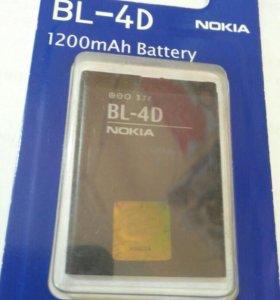 АКБ для Nokia BP-4D