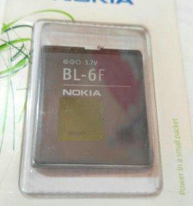 АКБ для Nokia BL-6F