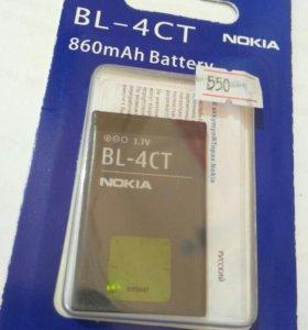 АКБ для Nokia BL-4CT