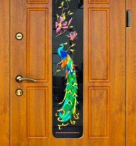 двухстворчатые металлические двери в солнечногорске