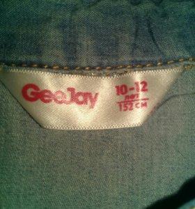 Джинсовая рубашка, глория джинс