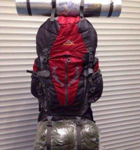 Туристический рюкзак - 85л.+подарок  спальник