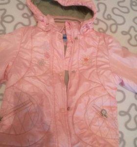Куртка на рост 116-128