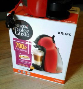Nescafe Dolce Gusto капсульная кофемашина