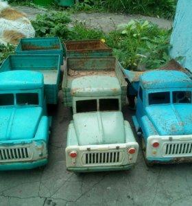 Игрушки СССР грузовик ЛТЗ