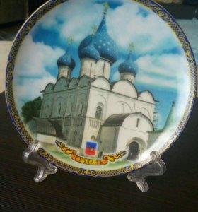 Декоративная тарелочка. Суздаль