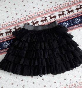 Кружевная юбочка