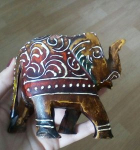 Деревянный слоник