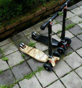 Самокаты, мотоциклы, скейтборды, беговелы