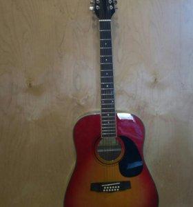 Гитара Martinez 12 струн + зимний чехол