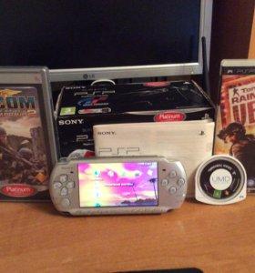 PSP 3008 Silver Slim & Lite Wi-Fi