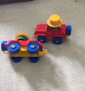 Машинка- Лего, разборная, Россия