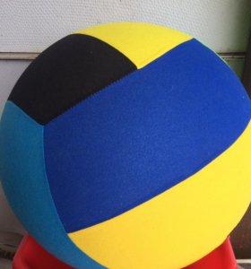 Тканево-резиновый мяч.