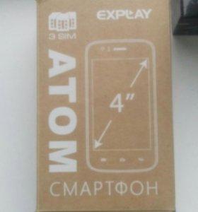 Телефон Explay atom