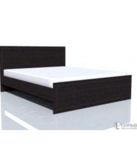 кровать двушка с матрасом