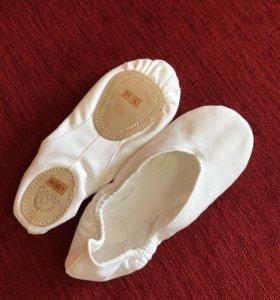 Балетки танцевальные, 36-37 размер