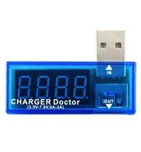USB тестер напряжения и силы тока (Charger Doctor)