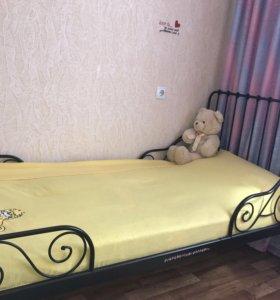 Продам раздвижную кровать 1,40-1,70-2м
