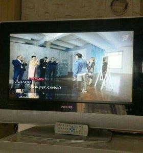 Телевизор Philips,диагональ 26(66см)