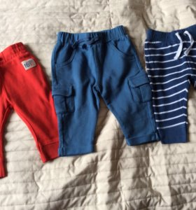 3 штанов Mothercare 66 размер